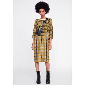 Zara Mixed Textured Dress S